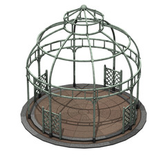 Gazebo in ferro a cupola