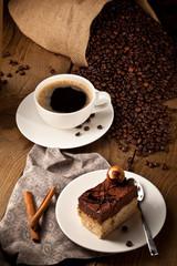 Kaffe und tiramisu