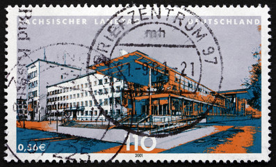Postage stamp Germany 2001 State Parliament of Saxony