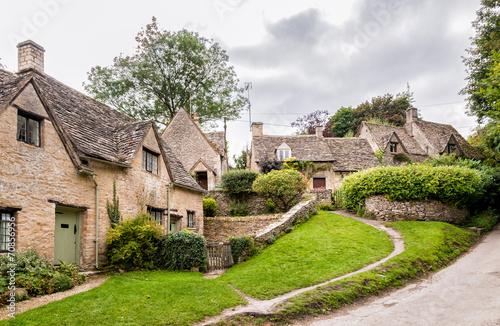 Leinwandbild Motiv Houses of Arlington Row in the village of Bibury, England
