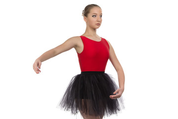 Photo of young dancing girl