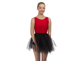Image of young dancer girl