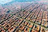 Aerial view of   Barcelona, Catalonia - Fine Art prints