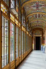 Interior of Hospital de la Santa Creu i Sant Pau