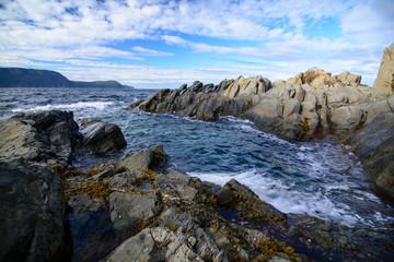 Rugged Coastline in Newfoundland, Canada