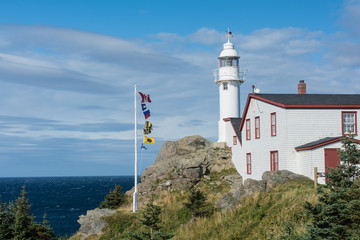 Lobster Cove Head Lighthouse in Gros Morne National Park, Newfou