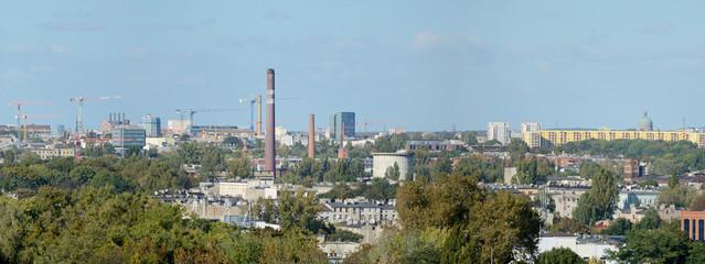 Łódź, Polska -Stitched Panorama
