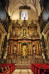 Capilla Virgen de la Antigua, Catedral de Sevilla, España
