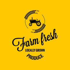farm fresh design background
