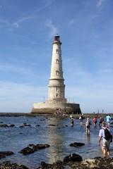 le phare de cordouan dans l'estuaire de la gironde