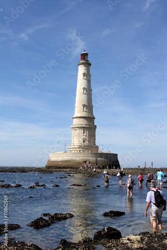 le phare de cordouan dans l'estuaire de la gironde - 70862569