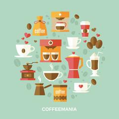 Coffee flat circle