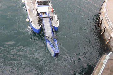 Atık Toplama gemisi