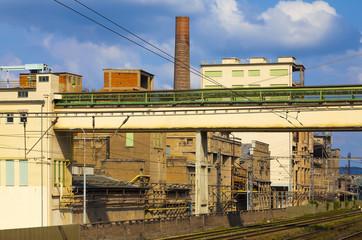 Cement factory, Czech Republic