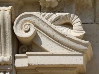 détail d'architecture,phare de cordouan