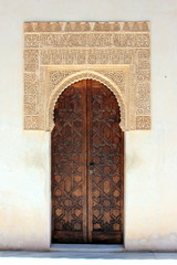 Maurische Tür in der Alhambra