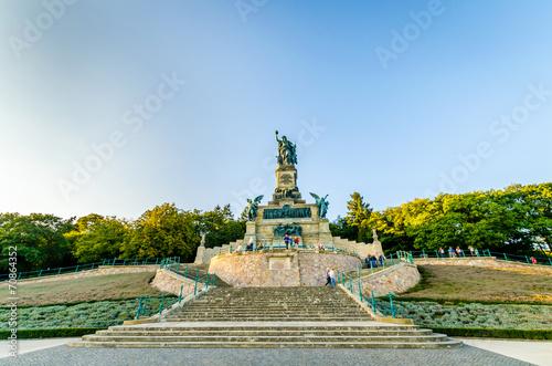 Leinwanddruck Bild Niederwalddenkmal