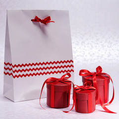 Gift boxes with nice package