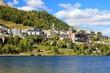 Leinwanddruck Bild - St.Moritz