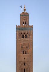 Koutubia mosque in Marakech