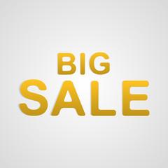 Vector big sale text.