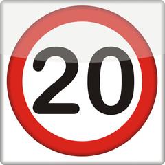 Verkehrszeichen, 20