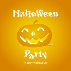 Halloween Party orange 2014