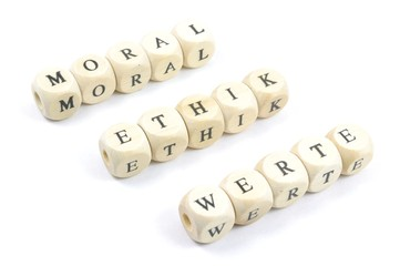 Moral Ethik Werte