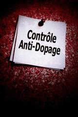contrôle anti-dopage