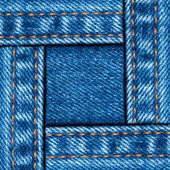 Jeans frame. Square.