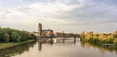 Magdeburg - DOM -  Elbe