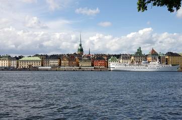 promenade à Stockholm