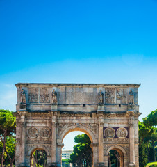 Arch of Constantine, Rome