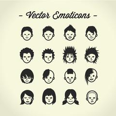 Emoticons people avatar