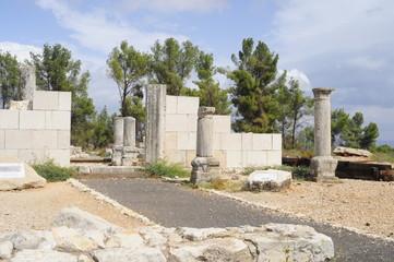 The Ancient Synagogue Nevoraya in the Biriya Forest