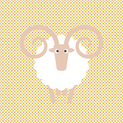 Sheep #Vector Illustration