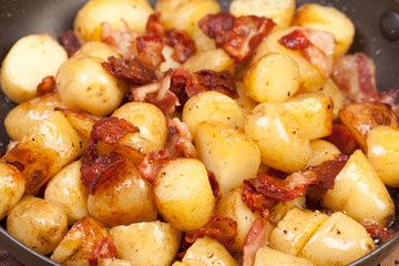 potatoes and bacon
