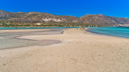 Detail of Elafonisi beach, island of Crete
