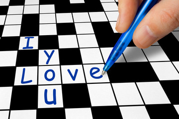Crossword - I love you