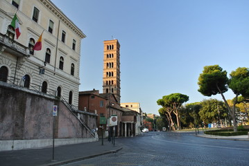 イタリア ローマ 街並み