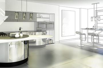 Conceptual Kitchen (project)