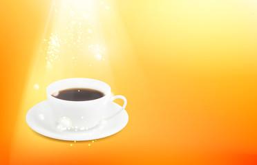 Cup of espresso.
