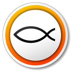 Vector jesus fish icon