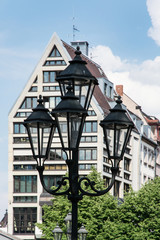 Architecture in the German city Nuremberg