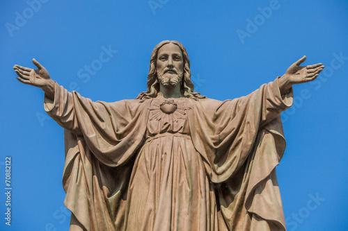 Papiers peints Statue Outdoor Statue of Jesus