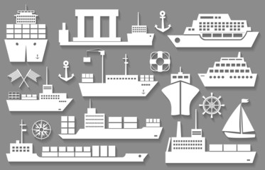 boat and ship icons
