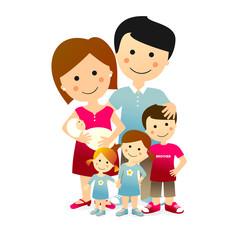 Familia Numerosa de 6 miembros