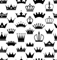 Seamless crowns pattern