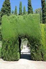 Gartendetail der Alhambra