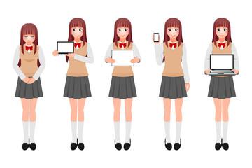 女子学生A-2